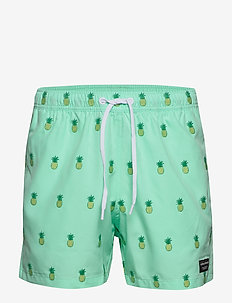 SWIM SHORTS SANTIAGO SANTIAGO - shorts de bain - bb pineapple mint
