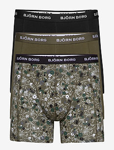 SHORTS SAMMY BB LA FLOWER - undertøj - olive night