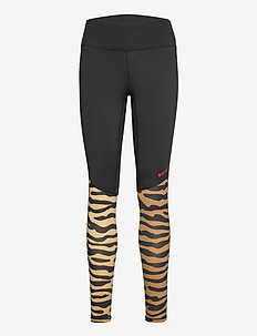 TIGHTS CLARENCE CLARENCE - running & training tights - bb tiger