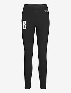 TIGHTS W NIGHT NIGHT - running & training tights - black beauty