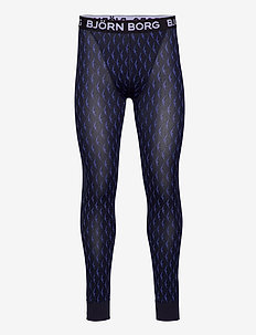 LONG JOHNS LEO BB WINGSPAN - base layer underdeler - night sky