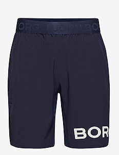SHORTS BORG BORG - training shorts - peacoat