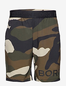 SHORTS BORG BORG - training shorts - peace