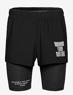 "SHORTS M NIGHT 2,5"" NIGHT - training shorts - black beauty"