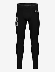 TIGHTS M NIGHT NIGHT - running & training tights - black beauty