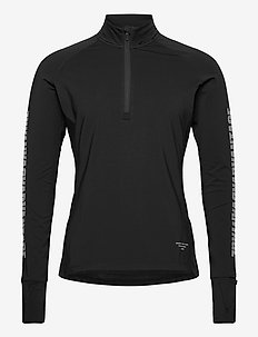 MIDLAYER M NIGHT NIGHT - basic sweatshirts - black beauty