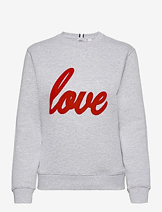CREW MARIA MARIA - sweatshirts - h108by light grey melange