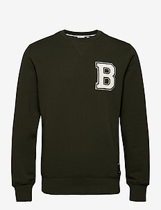 CREW CENTRE CENTRE - basic sweatshirts - rosin