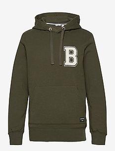 HOOD CENTRE CENTRE - basic sweatshirts - rosin