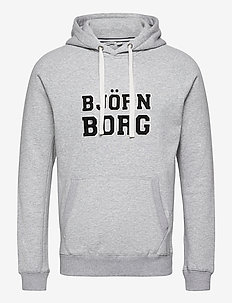 HOOD BORG SPORT BORG SPORT - bluzy z kapturem - h108by light grey melange