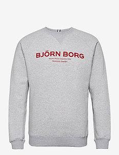 CREW BORG SPORT BORG SPORT - tops - h108by light grey melange