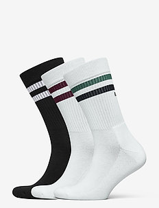 SOCK Ankle Crew Sock BB DOUBLE STRIPE - nilkkasukat - night sky