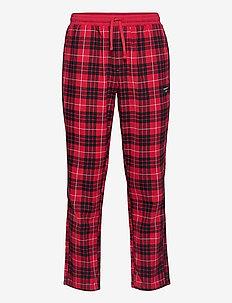 PERCY PYJAMA PANT BB BIG CHECK - bottoms - true red
