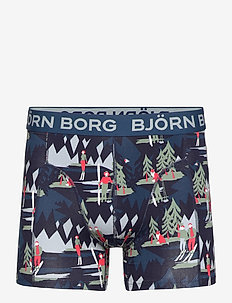 SHORTS SAMMY BB WINTER WONDERLAND - underwear - night sky