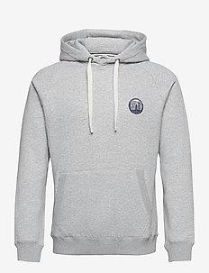 HOOD BORG SPORT BORG SPORT - basic sweatshirts - h108by light grey melange