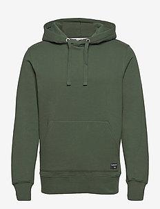 HOOD CENTRE CENTRE - basic sweatshirts - sycamore