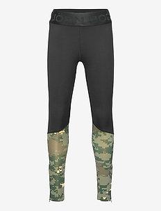 TIGHTS JR BOY JR BORG - leggings - black beauty