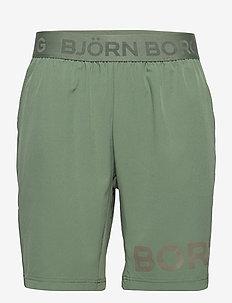 SHORTS BORG BORG - training shorts - duck green
