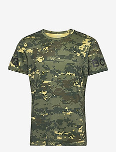 TEE BORG BORG - t-shirts - digital woodland xl duck green