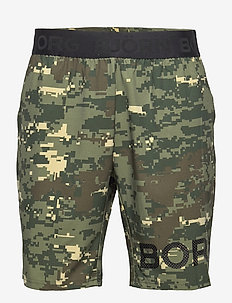 SHORTS BORG BORG - treningsshorts - digital woodland xl duck green