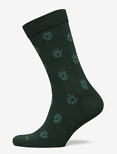 SOCK ANKLE BB SIMPLE FLOWER - regular socks - sycamore