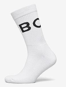 SOCK ANKLE BB BORG STRIPE - regular socks - brilliant white
