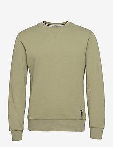 CREW CENTRE CENTRE - basic sweatshirts - oil green