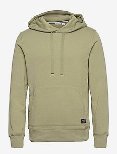 HOOD CENTRE CENTRE - basic sweatshirts - oil green