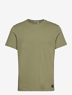 TEE CENTRE CENTRE - t-shirts - oil green