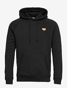 HOOD BORG SPORT BORG SPORT - hoodies - pride black