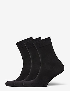 SOCK ANKLE SOLIDS - sokker - black beauty