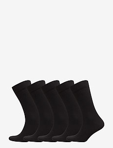 5p SOCK NOOS ESSENTIAL - regulære sokker - black