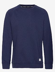 CREW BBCENTRE BBCENTRE - sweatshirts - peacoat