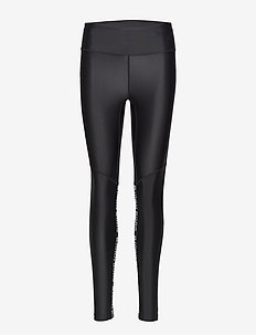 HIGH WAIST TIGHTS CLARA CLARA - running & training tights - black beauty