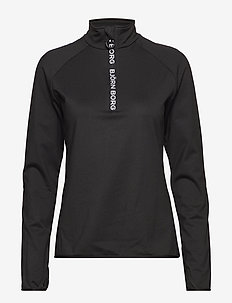 HALF ZIP POLO CHRISTA CHRISTA - BLACK BEAUTY