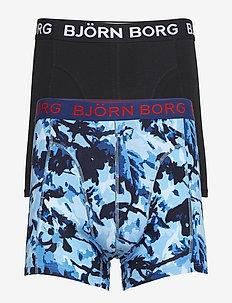SHORTS BB BRANCH 2p - BONNIE BLUE