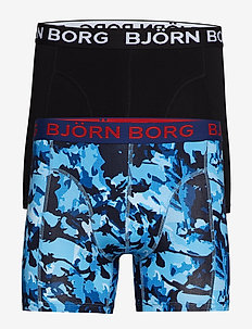 SHORTS BB BRANCH 2p - boxers - bonnie blue