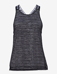 CASSIE LOOSE TOP - tank tops - black beauty melange