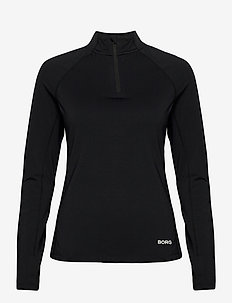 HALF ZIP CARIN CARIN - sweatshirts - black beauty