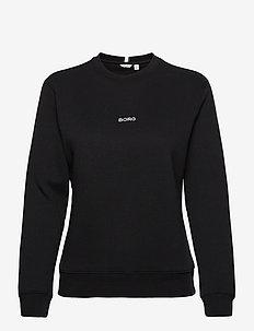 CREW MARIA MARIA - sweatshirts - black beauty
