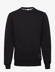 CREW CENTRE CENTRE - basic sweatshirts - black beauty