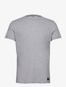 TEE CENTRE CENTRE - basic t-shirts - h108by light grey melange