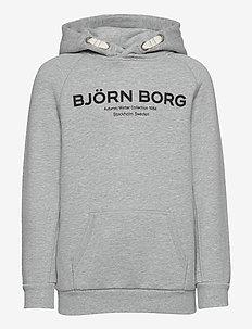 HOOD BORG SPORT BORG SPORT - hupparit - h108by light grey melange