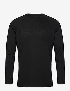 LS TEE ANTE ANTE - longsleeved tops - black beauty