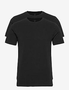 TEE THOMAS SOLID - basic t-shirts - black beauty