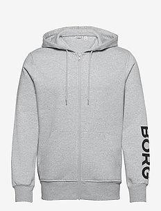 JACKET M BB LOGO M BB LOGO - basic sweatshirts - h108by light grey melange