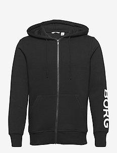 JACKET M BB LOGO M BB LOGO - basic sweatshirts - black beauty