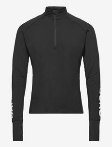 MIDLAYER HALF ZIP BORG BORG - sportsjakker - black beauty