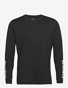 LS TEE BORG BORG - basic t-shirts - black beauty