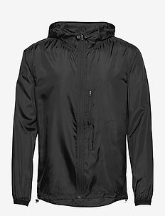 WIND JACKET BORG BORG - sportsjakker - black beauty